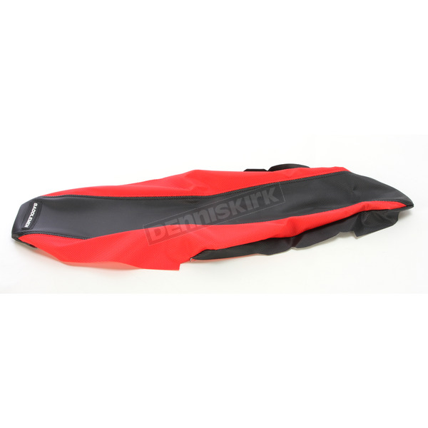 Saddlemen Red Extreme Gripper Replacement Seat Cover - MXH-193-0007