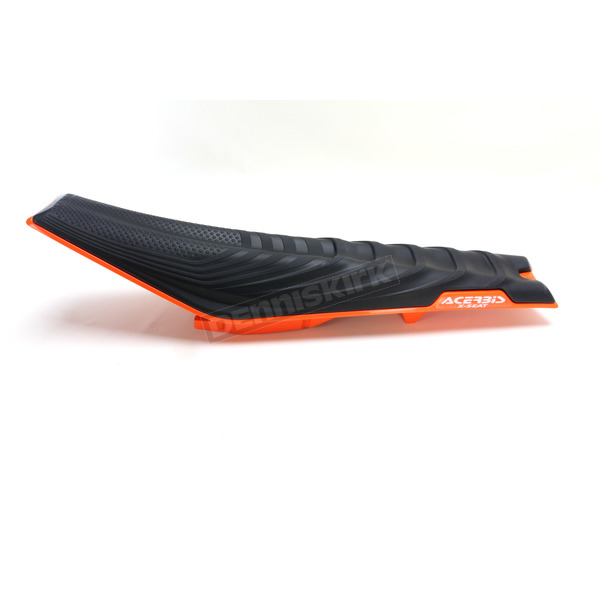 Acerbis Black/Orange 16 X-Seat - 2449745229
