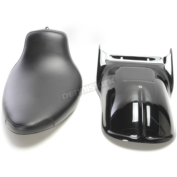 West Eagle Ribbed Rear Fender Kit w/Smooth Seat - H3524