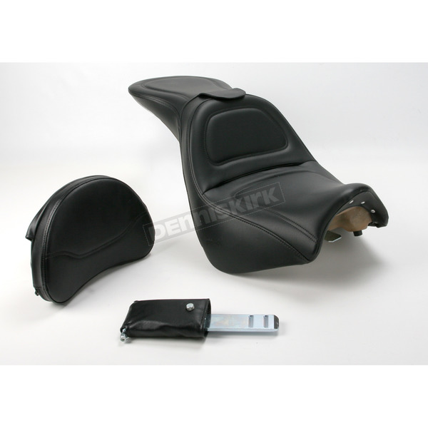 Saddlemen Explorer Seat w/Driver Backrest - S05-10-030