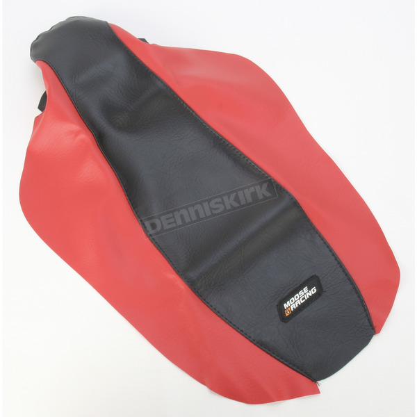 Moose Red/Black Seat Cover - 0821-1196