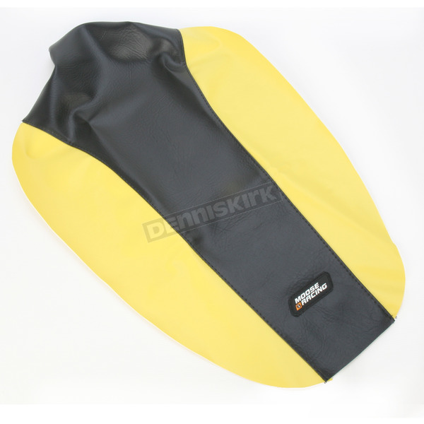 Moose Yellow/Black Seat Cover - 0821-1218
