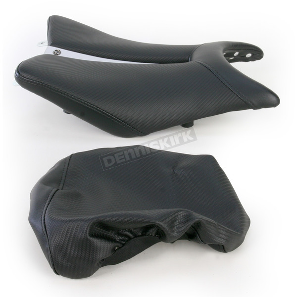 Saddlemen Track One-Piece Solo Seat with Rear Cover - 0810-H016
