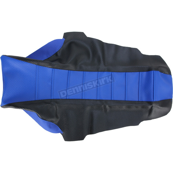 FLU Designs Black/Blue Team Issue 3-Panel Grip Seat Cover  - 35323