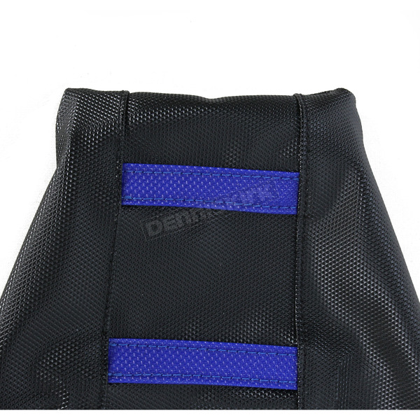 Moose Black/Blue Ribbed Seat Cover  - 0821-1814