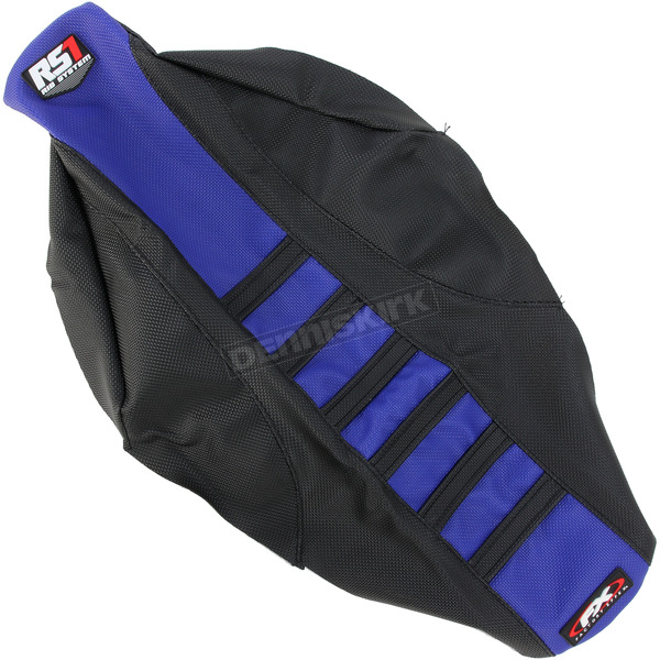 Factory Effex Black/Blue RS1 Seat Cover - 18-29214