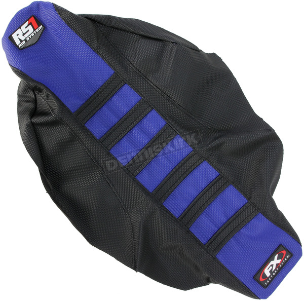 Factory Effex Black/Blue RS1 Seat Cover - 18-29220