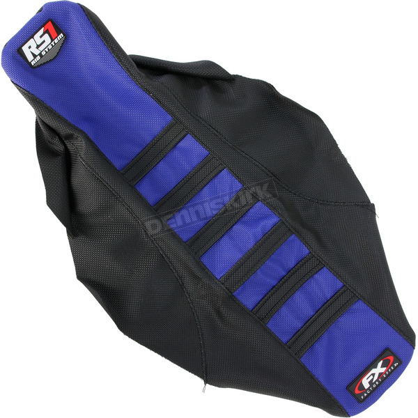 Factory Effex Black/Blue RS1 Seat Cover - 18-29226