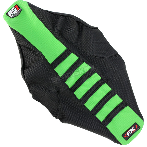 Factory Effex Black/Green RS1 Seat Cover - 18-29126
