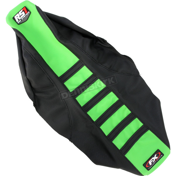 Factory Effex Black/Green RS1 Seat Cover - 18-29130