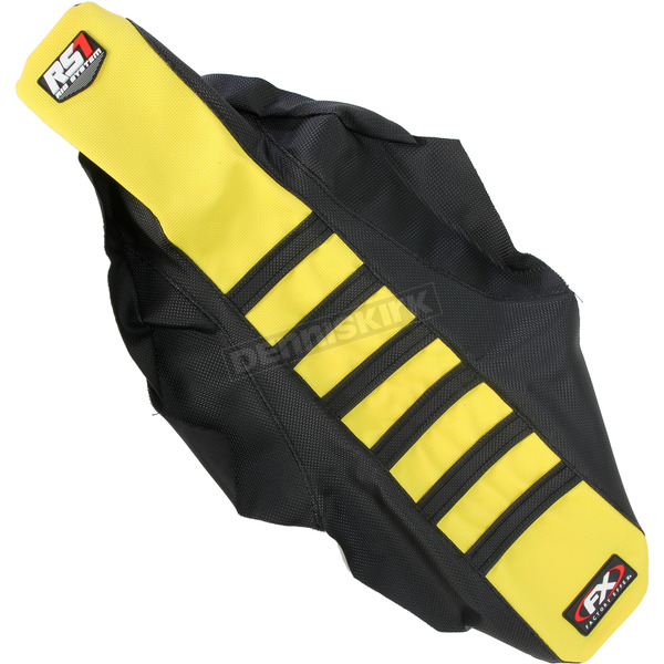Factory Effex Black/Yellow RS1 Seat Cover - 18-29426
