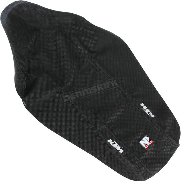 N-Style Black 3-Panel Grip Seat Cover - N50-6060