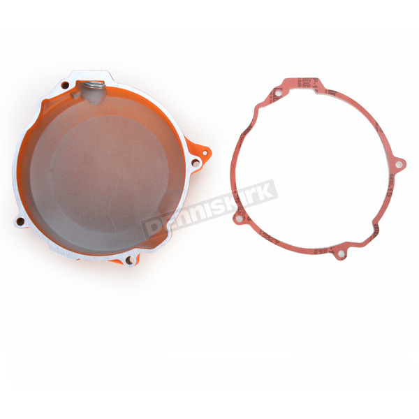 Boyesen Orange Factory Clutch Cover - CC-41O