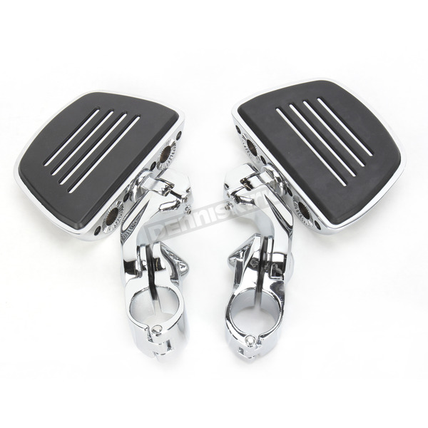 Kuryakyn Cruise Peg Mounts with Chrome Premium Mini Boards  - 7580