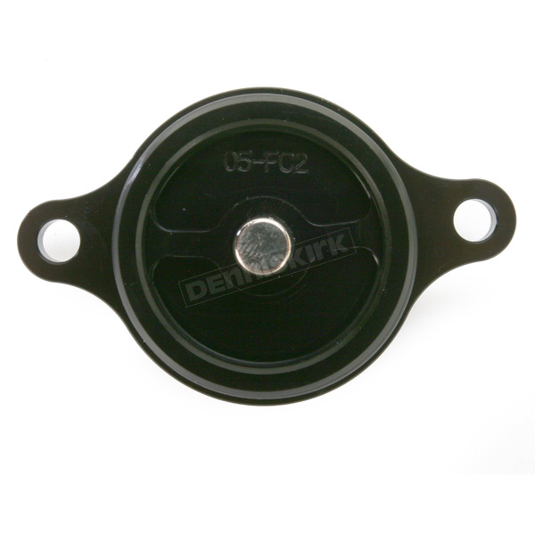 Powerstands Racing Black Magnetic Oil Filter Cover - 05-01980-22