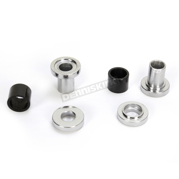 Drag Specialties Chrome Replacement Bushing for Accessory Docking Hardware - 1510-0233