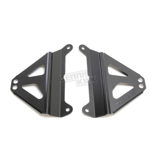 Works Connection Black Kawasaki Radiator Brace - 18-B279