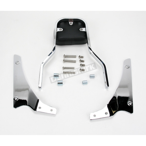 Cobra Short Square Sissy Bar w/Pad - 02-5665
