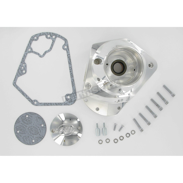 S&S Cycle Polished Billet Cam Cover Kit - 31-0335