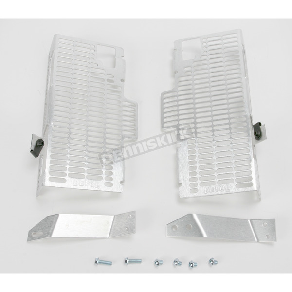 Devol Racing Radiator Guards - HCF-0194