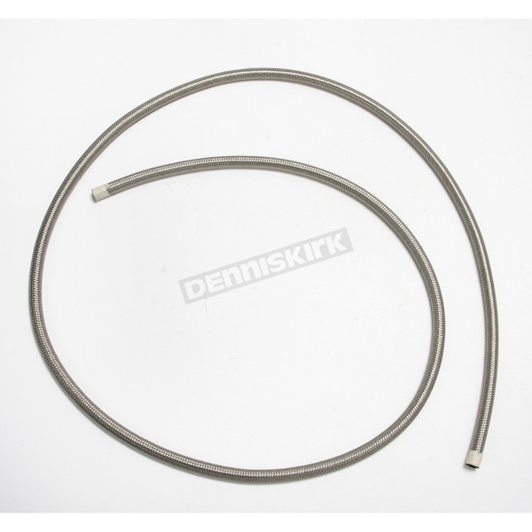Goodridge 1/4 in. Stainless Steel Braided Oil Hose - 202-04-06