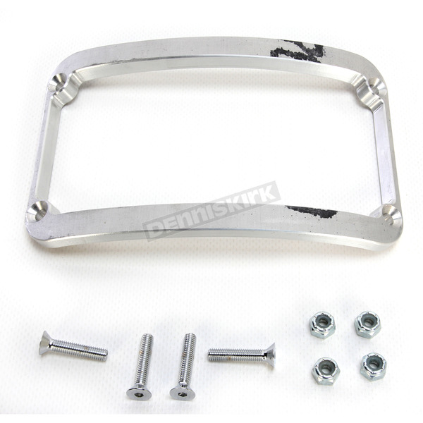 Klock Werks Raw Frenchie License Plate Frame - 2030-0230
