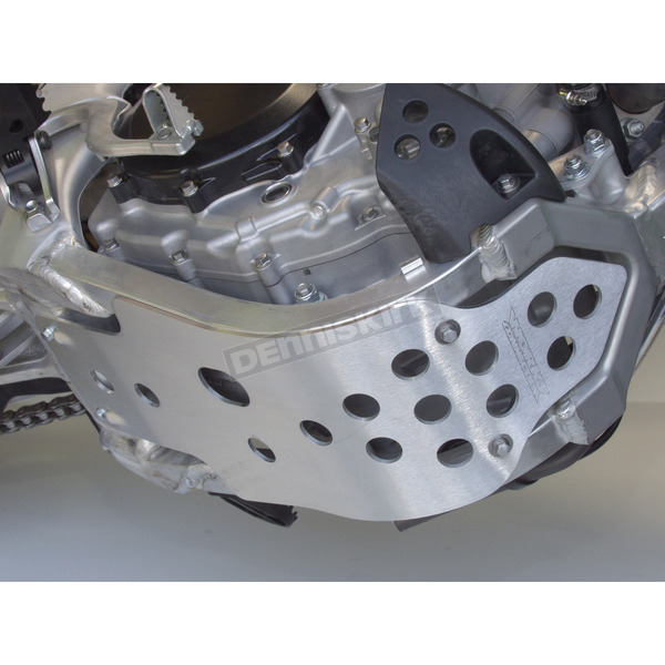 Works Connection MX Aluminum Skid Plate - 10-296