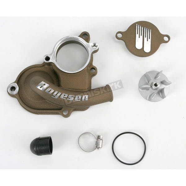 Boyesen Supercooler Water Pump Cover and Impeller Kit - WPK-26AM