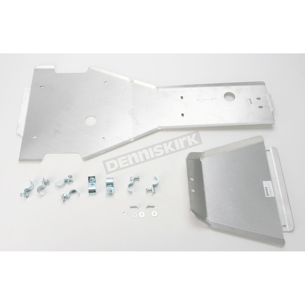 Moose Full Chassis Aluminum Skid Plate - 0506-0524