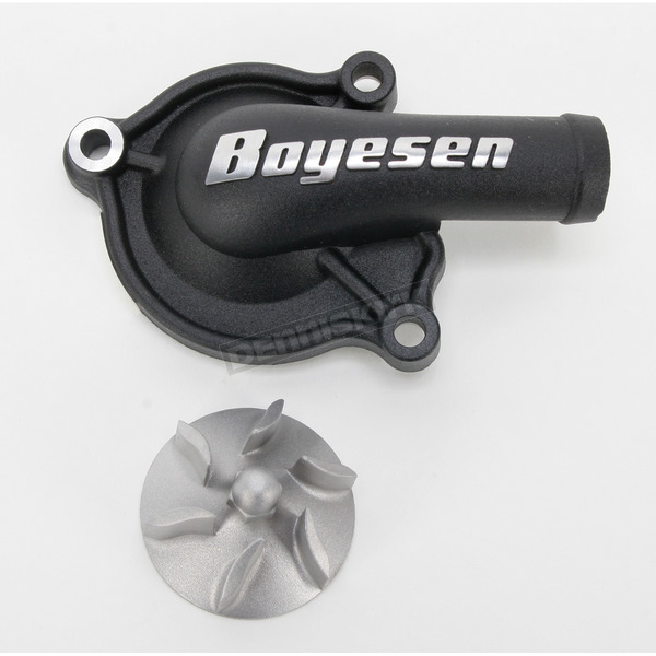 Boyesen Supercooler Water Pump Cover and Impeller Kit - WPK-06AB