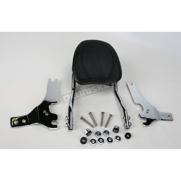 Jardine Touring Quick-Detach Passenger Backrest Kit w/8 in. x 8 in. Pad - 34-5202-01