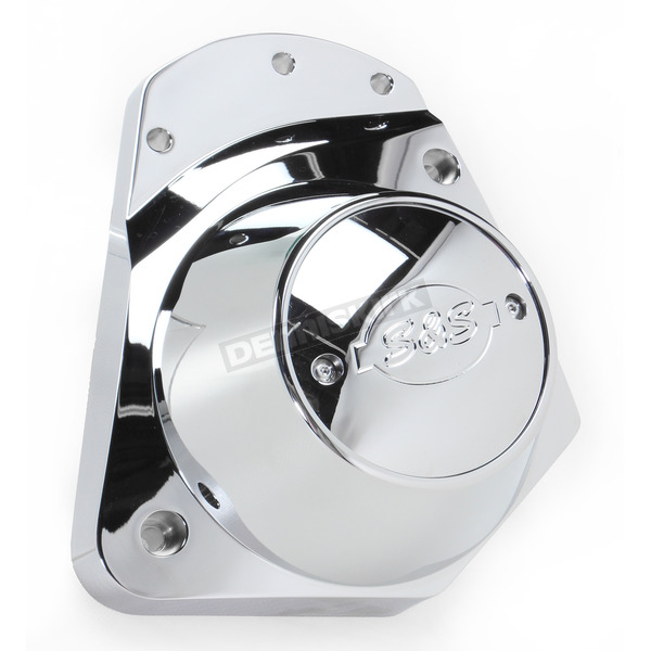 S&S Cycle Chrome Billet Cam Cover Kit - 106-4211