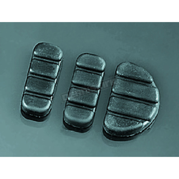 Kuryakyn Rubber Brake Pedal Pad Set - 8081