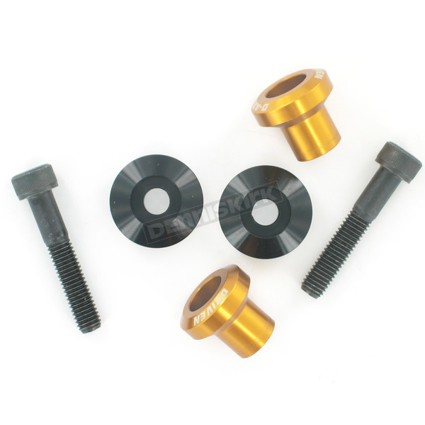 Driven Racing Gold 8mm D Axis Spools - DXS-8-GD