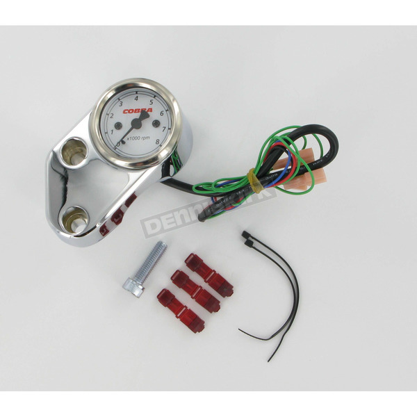 Cobra Billet Tachometer for Cruisers - 01-1740