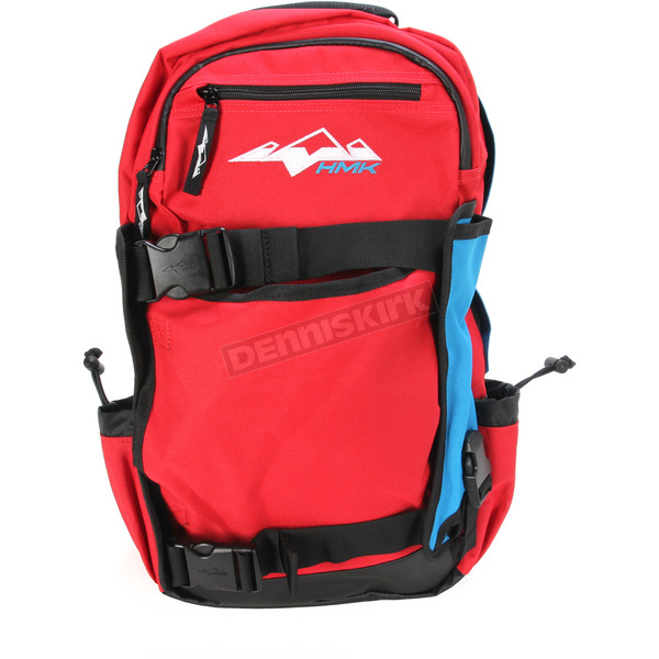 HMK Red Backcountry 2 Back Pack - HM4PACK2RBL