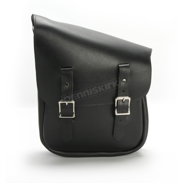 Nash Motorcycle Co. Black/Nickel Half & Half Bag for the Left Side - HHBLBLN