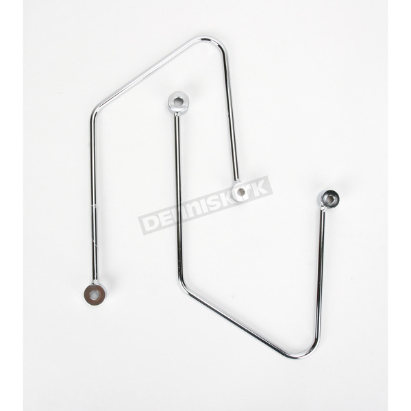 Cobra Saddlebag Support Brackets - 02-6140