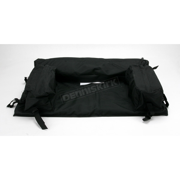 ATV Logic Padded Rear Rack Pack - Black - ATVEPB-B