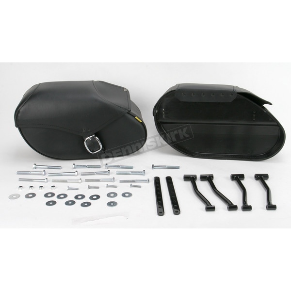 Willie & Max Large Hard Mount Standard Revolution Saddlebags - SB1801