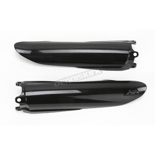 Acerbis Black Lower Fork Cover Set for Inverted Forks - 2113770001