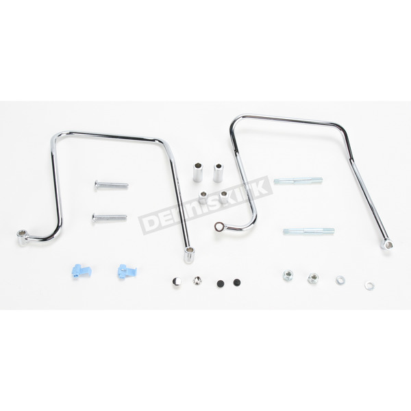 Khrome Werks Chrome Saddlebag Support Brackets - 110870