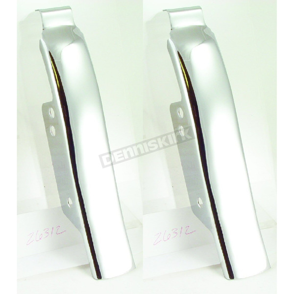 Chrome Saddlebag Filler Panels - 26312