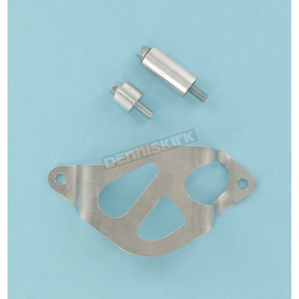 Works Connection Aluminum Rear Caliper Guard - 25-010