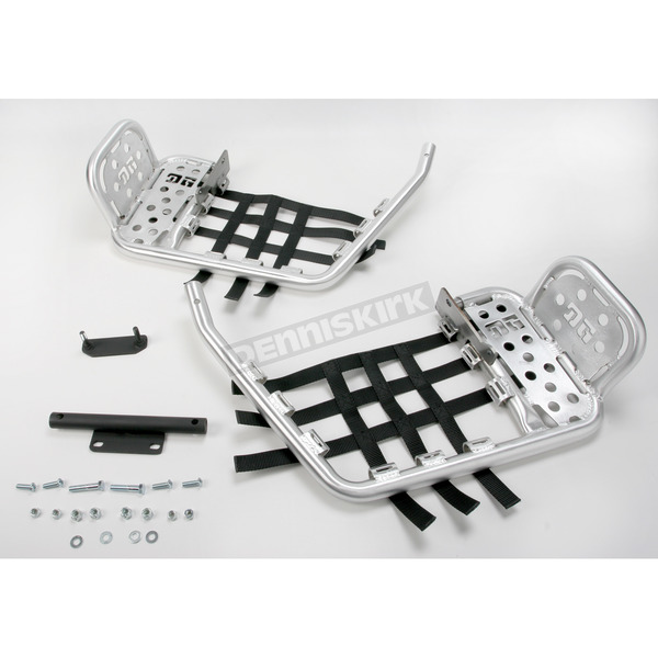 DG Alloy Heel Guard Nerf Bars w/Black Webbing - 607-4170