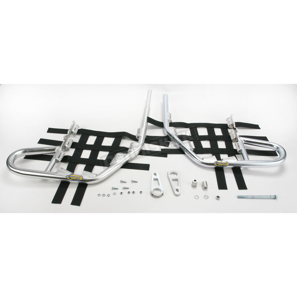 Motorsport Products Alloy Nerf Bars w/Black Webbing - 81-3301