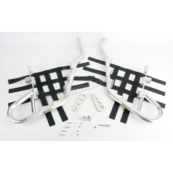 Motorsport Products Alloy Nerf Bars w/Black Webbing - 81-8101