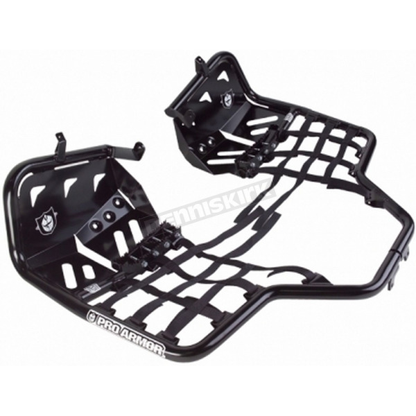 Pro Armor Alloy Fat Peg Nerf Bars w/Heel Guards - S091031BL