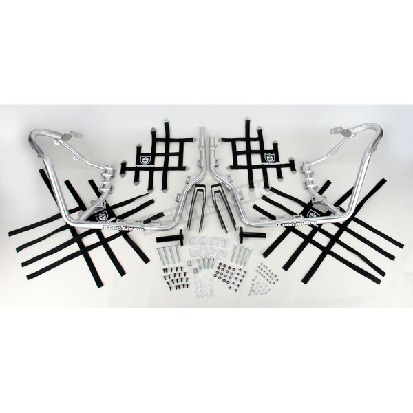Pro Armor Aluminum Nerf Bars w/Net Heel Guards - S061037