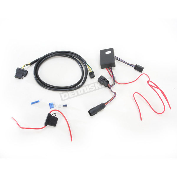 Plug-And-Play Trailer Wiring Connector Kit w/4 Wire Harness and Isolator on